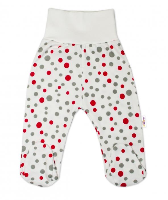 9ea2b4e1f 2-dielna dojčenská sada Baby Nellys ® Bodky - smotanová, veľ. 62 ...