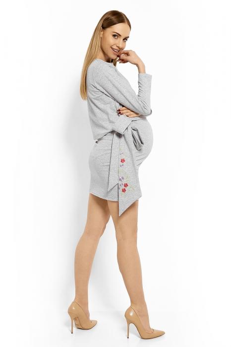 b8304b857ac3 Be MaaMaa Elegantné tehotenské šaty