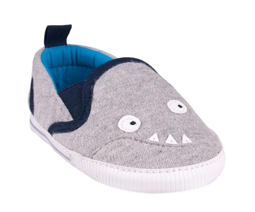 2e0c7585e55d YO ! Topánočky tenisky Monster - sivé - Výbavička pre bábätko ...