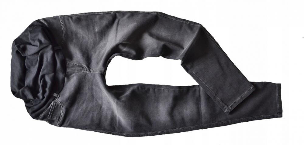 39365b5576 Smile Tehotenské nohavice JEANS s pružným pásom Angie - Čierne ...