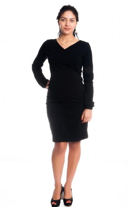 84590c3568c1 Be MaaMaa Tehotenské   dojčiace šaty Kristýna