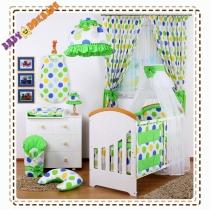 4 dielňa sada s nebesami Š - Bubble Happy - zelené