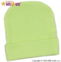 Novorodenecká čiapočka - zelená