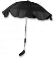 Slnečník, dáždnik univerzálne do kočíka - čierny